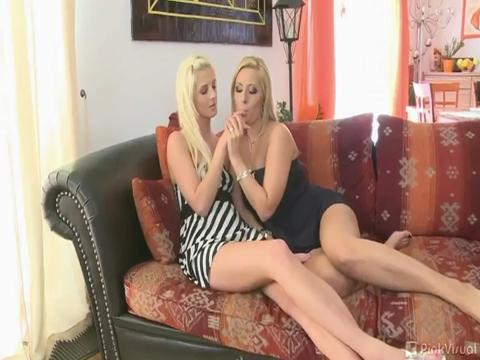 Daria Glover, Mia Hilton lesbian sex video from Lesbian Gonzo