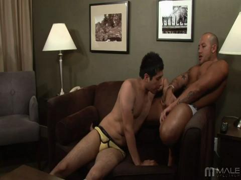 Jordano Santoro gay muscle video from Muscle Men XXX