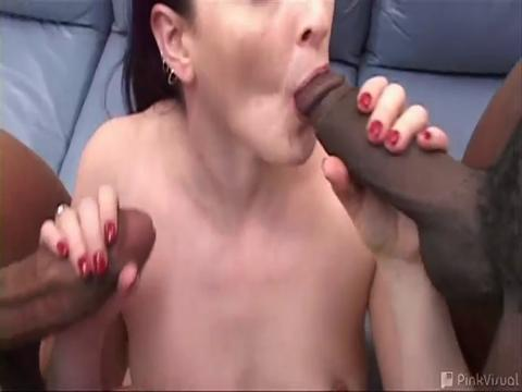 Caroline Pierce interracial sex video from Black Cocks White Sluts