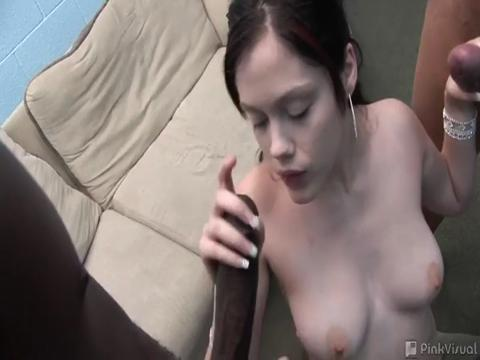 Crystal Clear interracial sex video from Black Cocks White Sluts