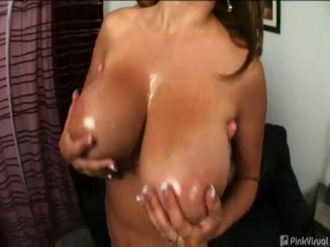 Jenna Doll big boobs video from Huge Boobs Galore