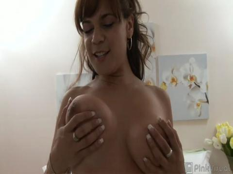 Danni Daire big boobs video from Huge Boobs Galore