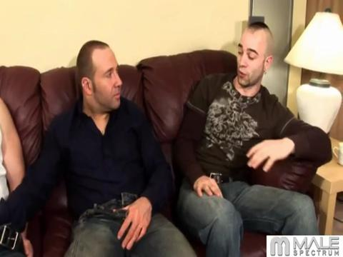 Sam Swift, Johnny Maverick gay networks video from All Gay Reality Pass