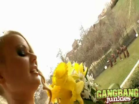 Dora Venter gang bang video from Gang Bang Squad