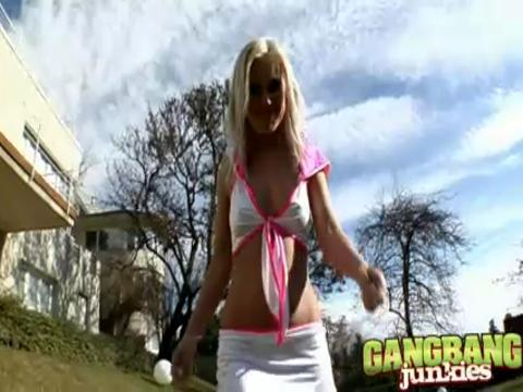 Bea Stiel gang bang video from Gang Bang Squad