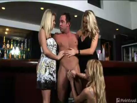 Riley Evans, Kelly Wells, Cassidy Blue cfnm video from CFNM Max