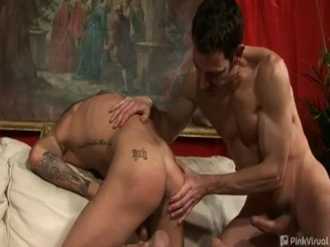 Tristan Mathews, Bryan Slater gay hardcore sex video from Gay Big Cock Sex