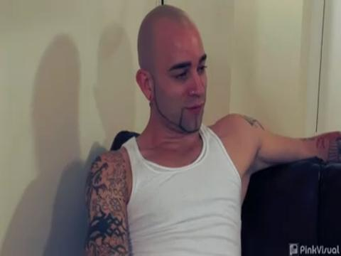 Sam Swift, Nikko Brave gay str8 bait video from His First Gay Sex