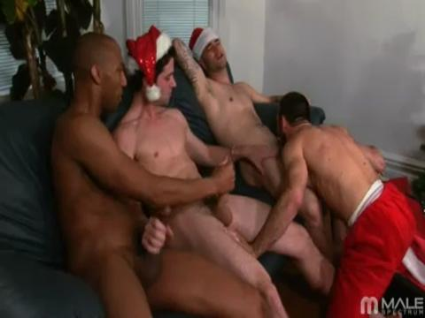 Sam Swift, Johnny Maverick, Xavier St. Jude gay hardcore sex video from Gay Big Cock Sex