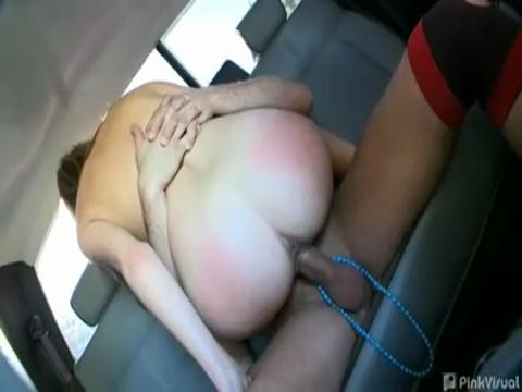Allyssa Hall reality porn video from Backseat Bangers