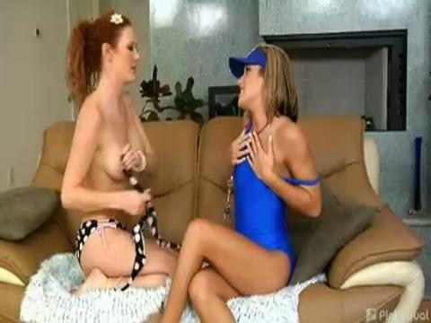 Audrey Hollander, Kara Novak networks video from Pink Visual Pass