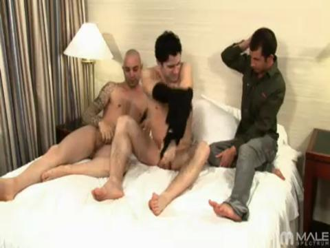 Sam Swift, Johnny Maverick, Taig Barnes gay networks video from Male Super Site