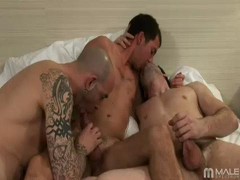Sam Swift, Johnny Maverick, Taig Barnes gay networks video from Male Spectrum Pass
