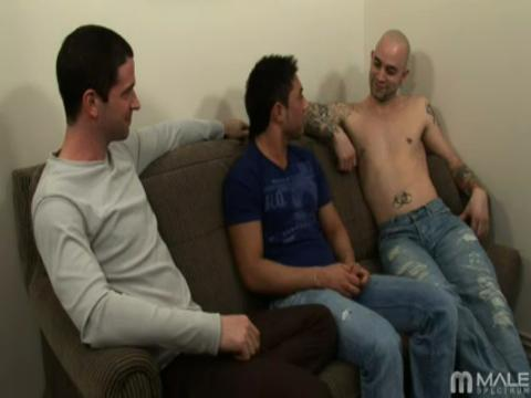 Sam Swift, Johnny Maverick, Kevin Costa gay hardcore sex video from Gay Big Cock Sex