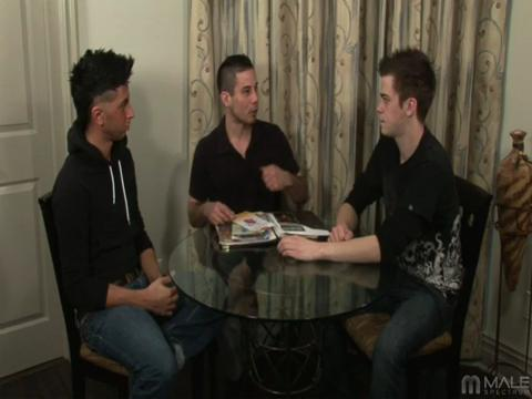 Jaymz Joynt, Nikko Brave, Mateo Takapino gay networks video from Male Spectrum Pass