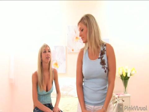Sammie Rhodes, Carmen Kinsley lesbian sex video from Club Girl Girl